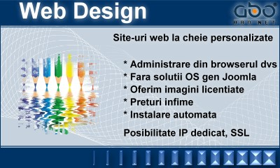 Web Design BUSINESS Gazduire pagina .com